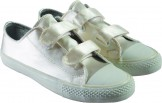 SAM by Rainbow Club Small Child Converse Style Satin Trainer