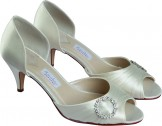 Rainbow Couture Ario Dyeable Wedding Shoes NEW