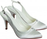 Else Amaretto Dyeable Wedding Shoes NEW