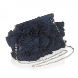 Lotus Fru Fru Navy Evening or Occasion Handbag
