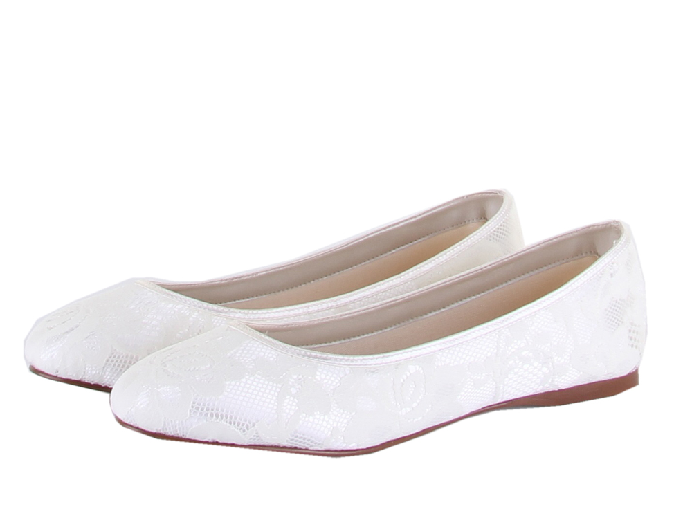 b6a137e820e1 Rainbow Club Shoes Felicity - Dyeable Lace Wedding and Bridal Shoes