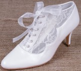 Lindsey May Bridal Shoes Miranda ankle boots