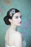 Rainbow Club Honesty Vintage Style Diamante and Pearl Side Tiara NEW