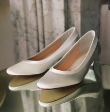 Low Heel Wedding Shoes Bea