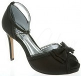 Lexus Linda A006 Black Wedding or Occasion Shoes