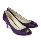 Paradox Pink Romantic Purple Satin Occasion Shoes