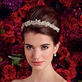Rainbow Club Bridal Tiara Freesia