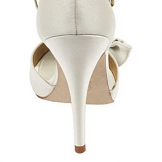 White and Ivory Shoes by Heel Height