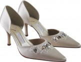 SERLIO by Rainbow Couture Designer Wedding Shoes HALF PRICE SALE!