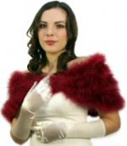 Mid Length Satin Bridal Gloves Ivory or White BWG001