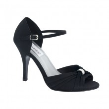 Black Evening Shoes Nora by Dyeables USA