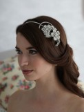 Rainbow Club Wedding Headdress Nerine Bridal Side Tiara