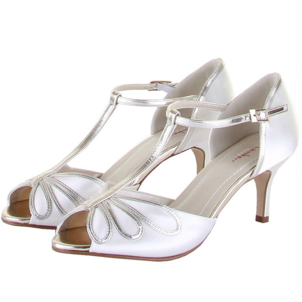 Rainbow Club Shoes Harlow - Dyeable Satin Wedding and Bridal Shoes dc79a13af