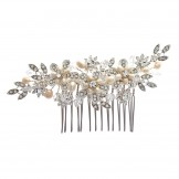 Starlet 'Bouquet' Flower Detail Hair Comb