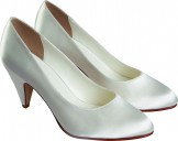 Else Syrah Dyeable Wedding Shoes NEW