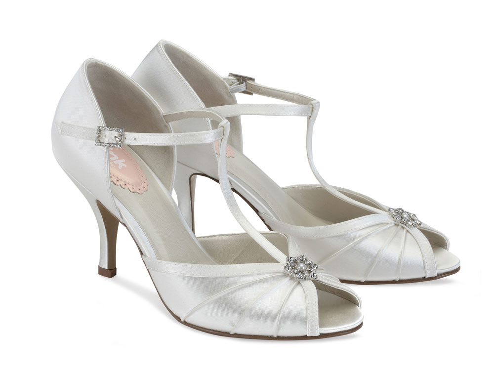 96527210f Perfume Pink by Paradox London Wedding Shoes - Vintage Style