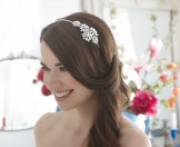 Rainbow Club Wedding Headdress Juniper Bridal Side Tiara