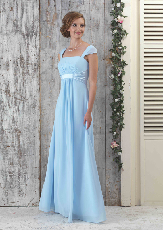 Icy Blue Bridesmaid Dresses - Wedding Guest Dresses