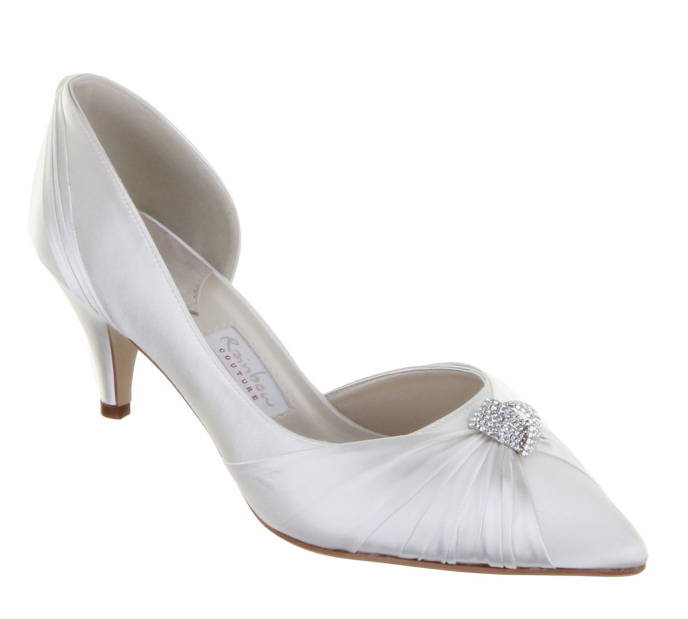 Nina Wedding Shoes Ivory