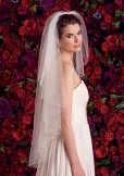 Rainbow Club Perfect Ivory Tulle Bridal Veil