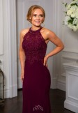 Prom Frocks PF9530 Blackcurrant Prom Dress or Evening Gown