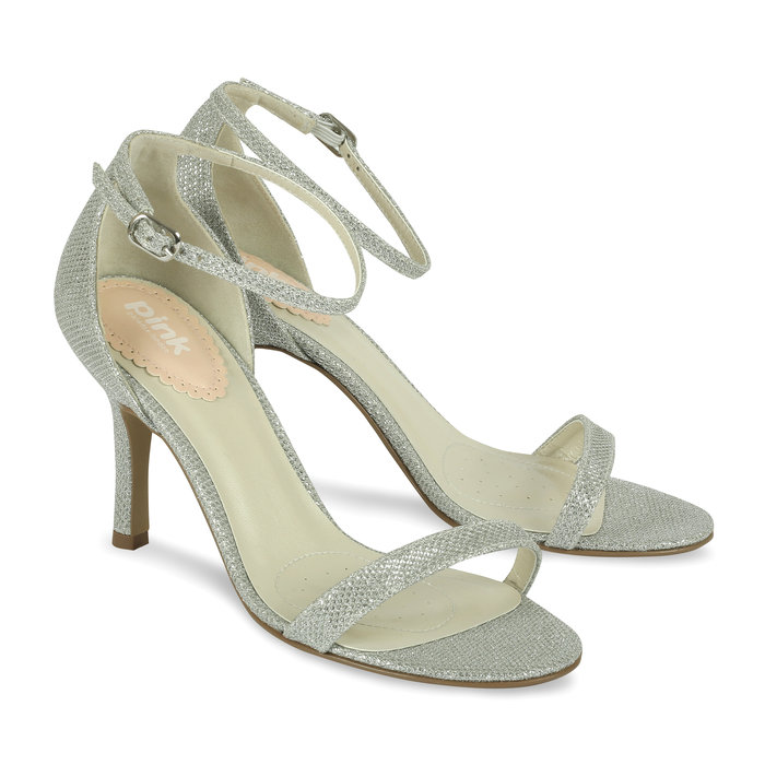 917a9e7c50e8 Silver Occasion Shoes - Serenity Paradox London Pink