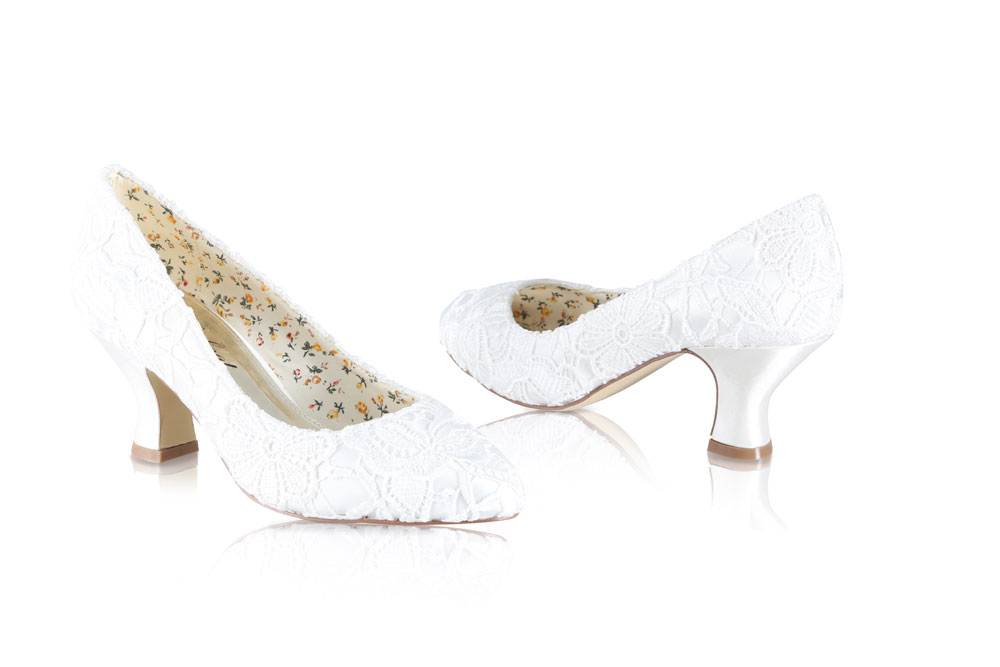 e26306784b37a Mable Perfect Bridal Shoes - Wedding Shoes Ivory Lace