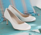 Rainbow Club Wedding Shoes Shelly Extra Wide Dyeable Bridal Shoes