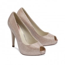Paradox Pink Champagne Glitter Shoes Yummy