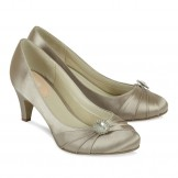 Taupe Occasion Shoes Paradox Pink Harmony