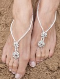 Linzi Jay Arianna Barefoot Sandals Wedding Foot Jewellery ARS001