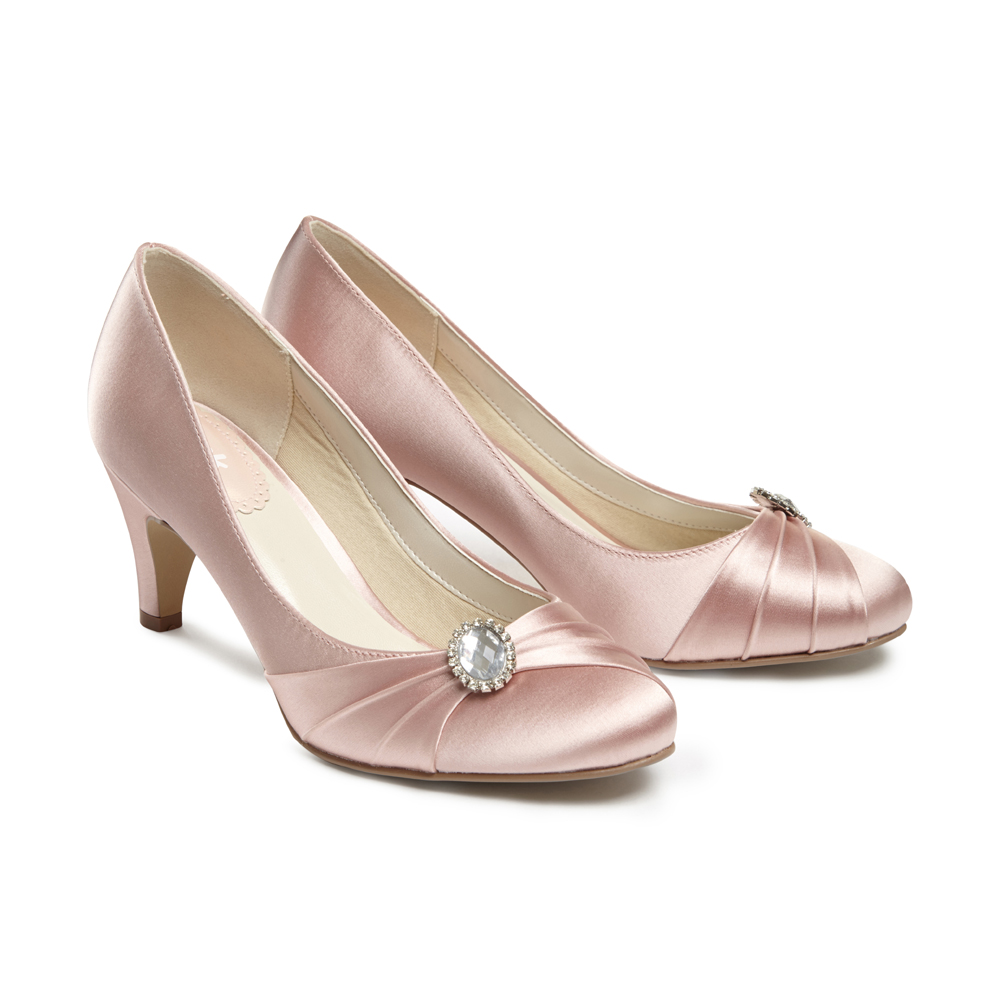 241043202cc7 Blush Occasion Shoes - Paradox London Pink Harmony