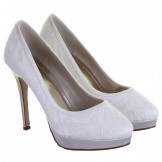 Rainbow Club Sydney Ivory Lace Wedding Shoes