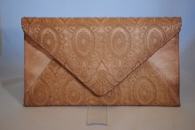 Vintage Lace Handbag in Taupe