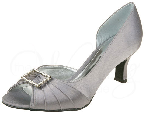 b890aa6b347 Christina Z031 Grey by Lexus Wide Fit Wedding Shoes. Image 1