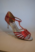 Scarlet Strappy Shoes