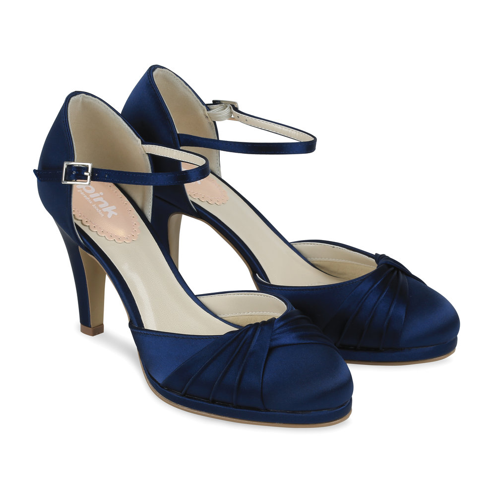 navy occasion shoes paradox pink