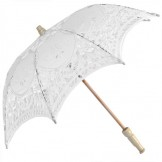 Battenburg Parasol - White - Childs