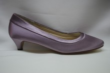 Low Heel Comfort Shoes Bea In Lavender