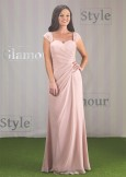 Linzi Jay Bridesmaid Dress Vintage Rose