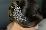 Freshwater Pearls, Crystals & Diamante Hair Accessory/Hair Comb,TLH3017