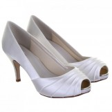 Rainbow Club Ivory Dyeable Wedding Shoes Sophie