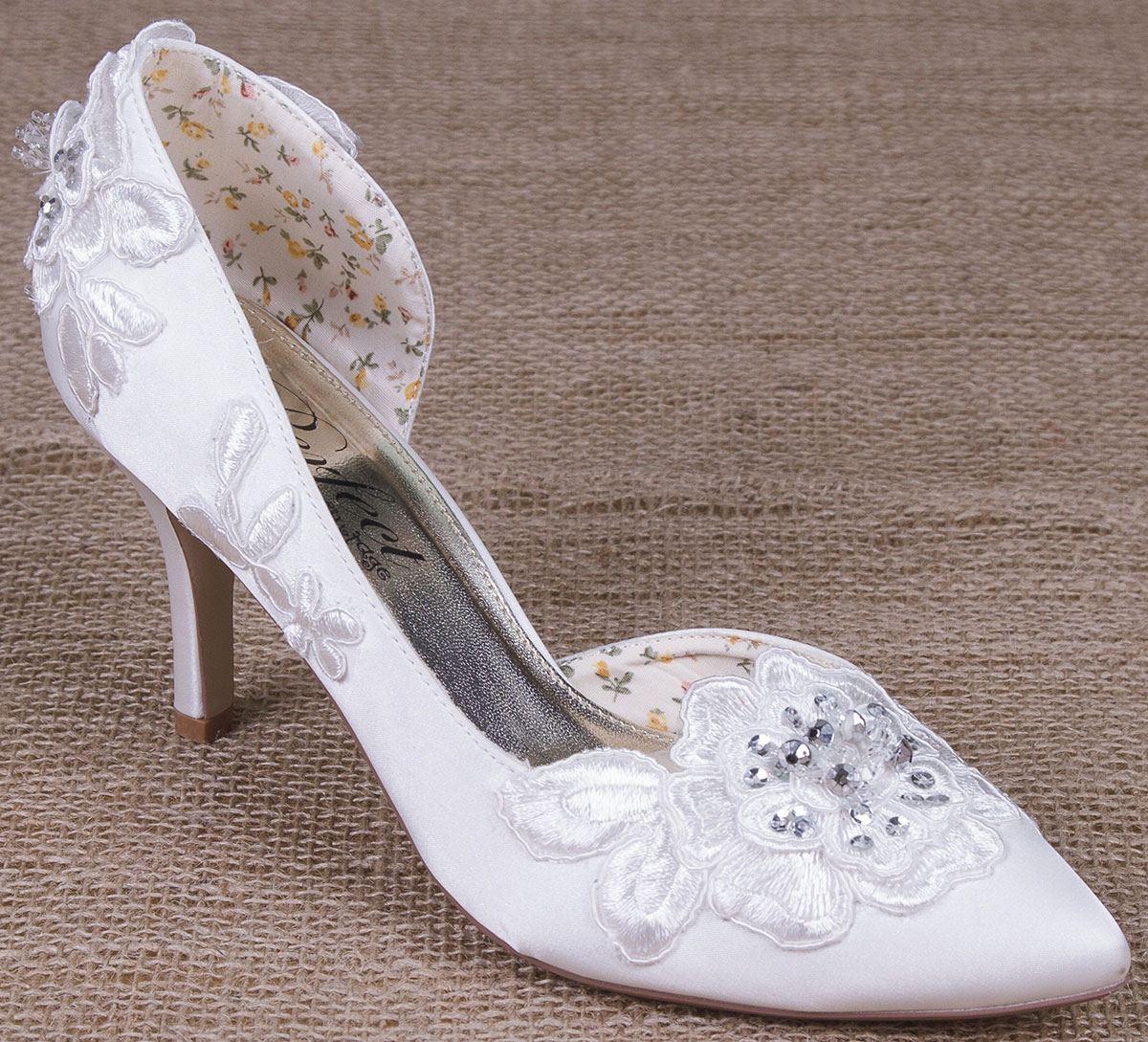 Annie Perfect Bridal Shoes Wedding Shoes Ivory Lace