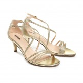 Gold Occasion Shoes Paradox Pink Isla