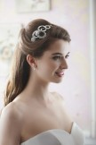 Rainbow Club Wedding Headdress Caraway Bridal Side Tiara