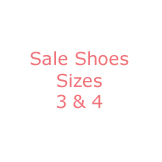 Sale Shoes Sizes 3 & 4