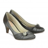Slate Grey Occasion Shoes Paradox Pink Harmony