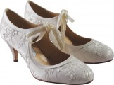 Designer Bridal Shoes by Diane Hassall