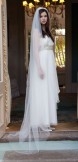 Rainbow Club Intrigue Ivory Bridal Veil 96 inches long