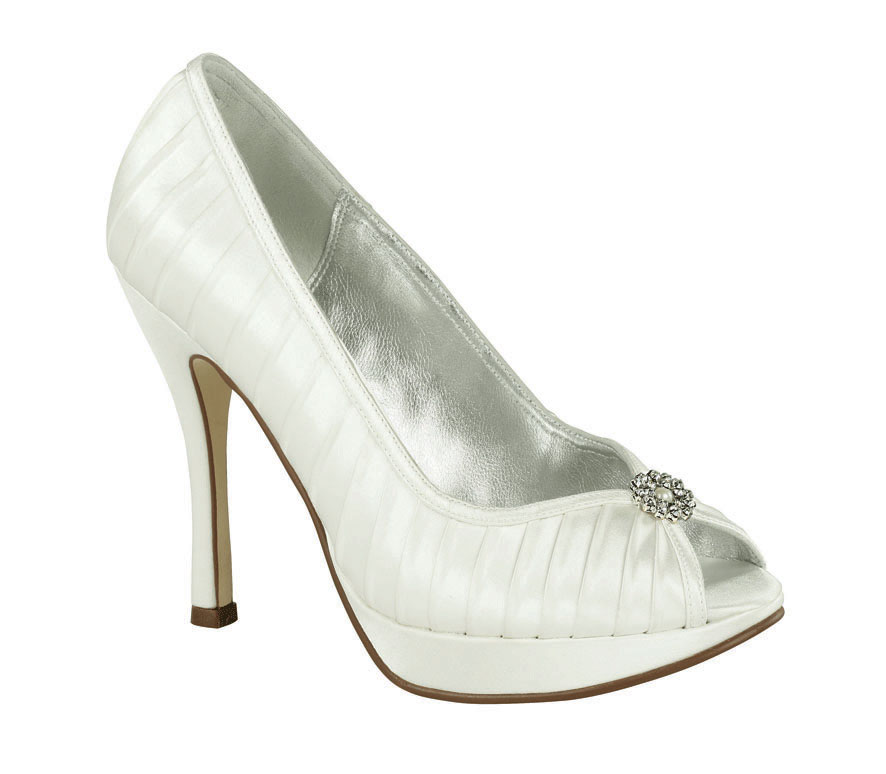 Belle By Paradox TIGER Wedding Shoes Dyeable Bridal Shoes SALE